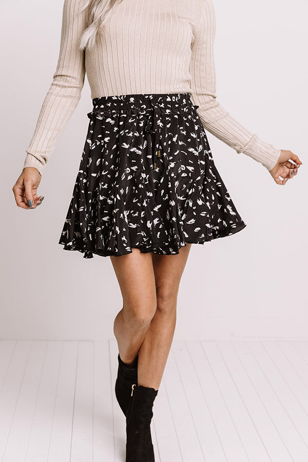 Love In Tribeca Skort In Black
