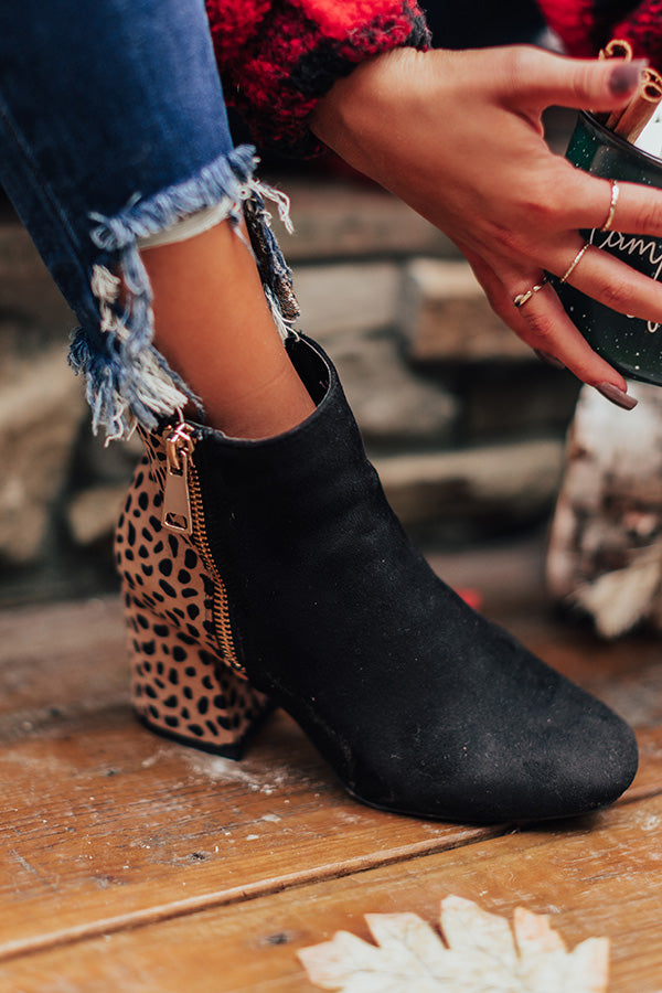The Everlee Bootie In Black