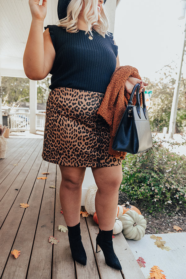 Colorado Concert Leopard Skirt