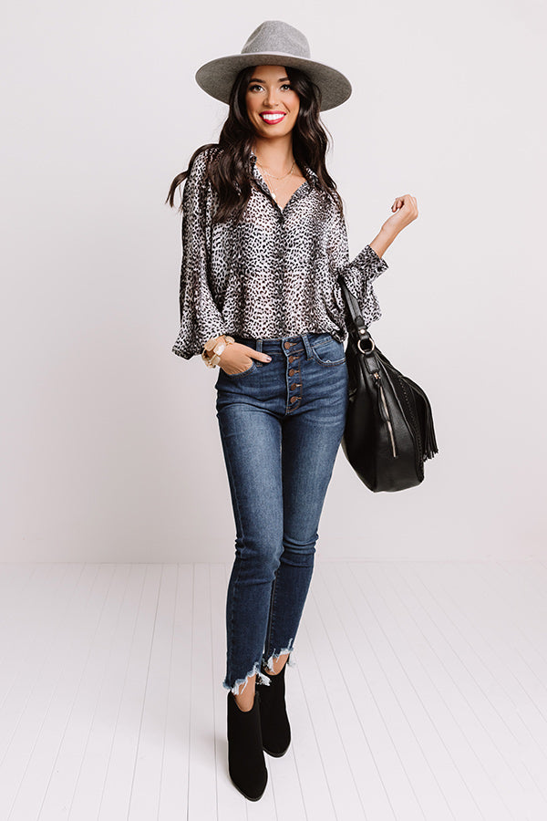 Witty Charm Leopard Top