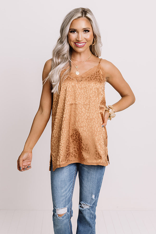 So Worth It Lace Trim Tank