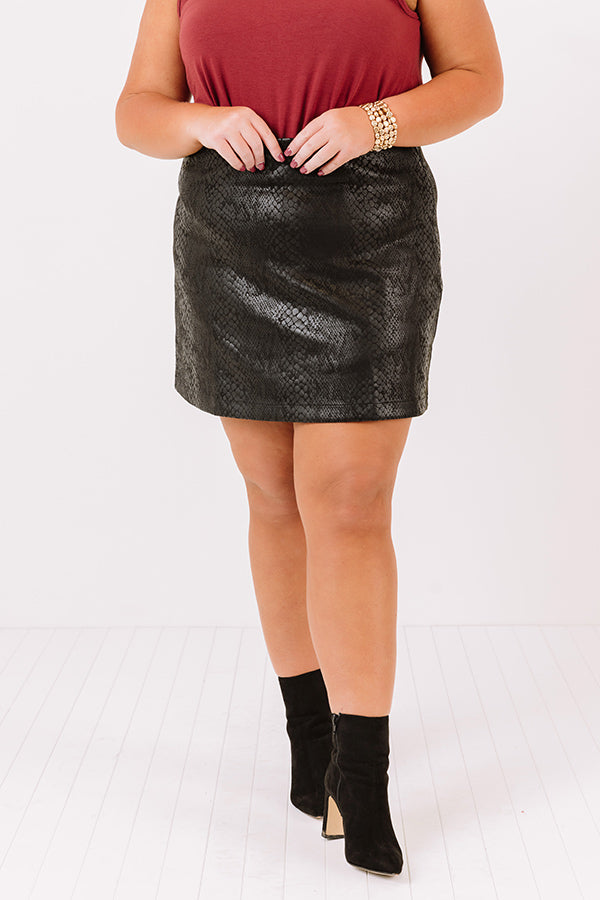 Colorado Concert Skirt In Black