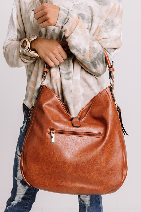 Dating In Denver Faux Leather Tote In Maple