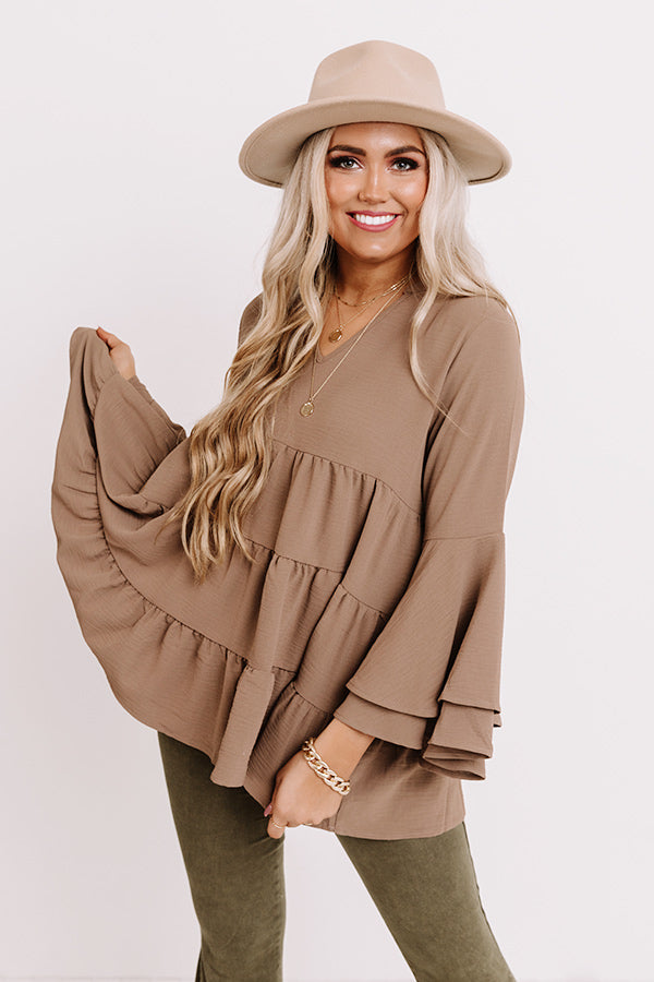 Scenic Drive Shift Top In Mocha