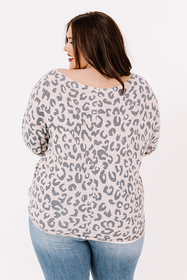 Stay Near Leopard Top