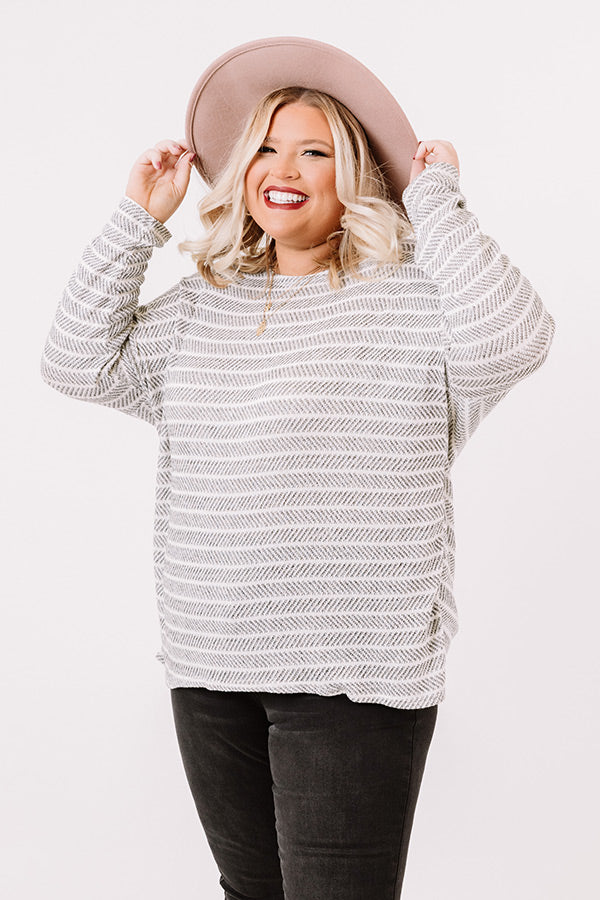 Beyond Smiles Knit Top