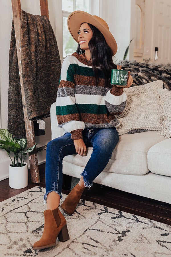 Apple Valley Stripe Sweater