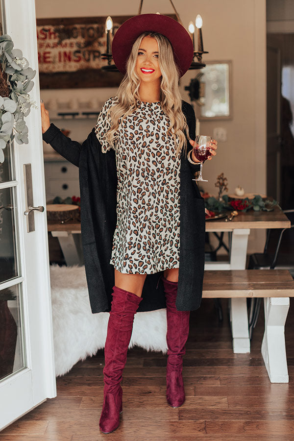 Desert Muse Leopard Dress