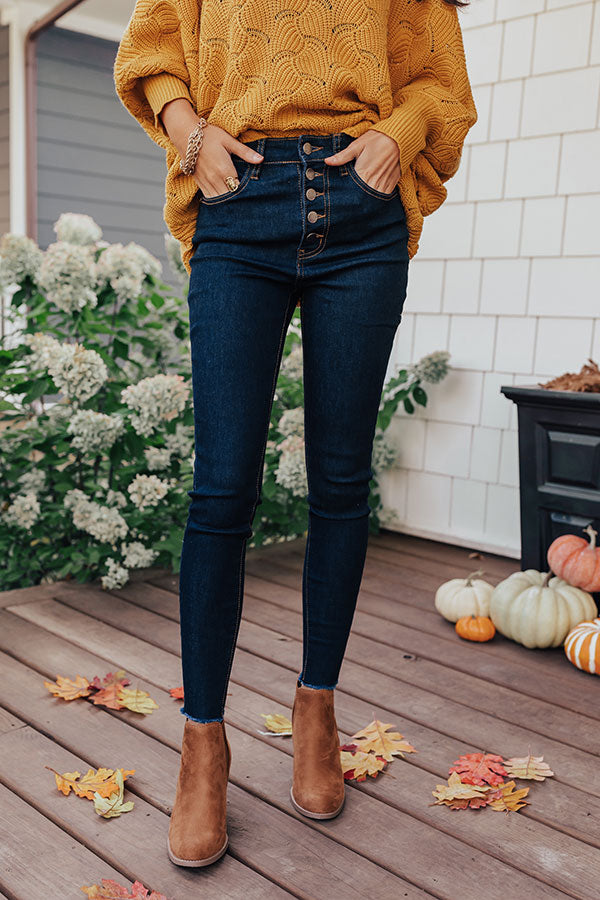 The Kora High Waist Ankle Skinny