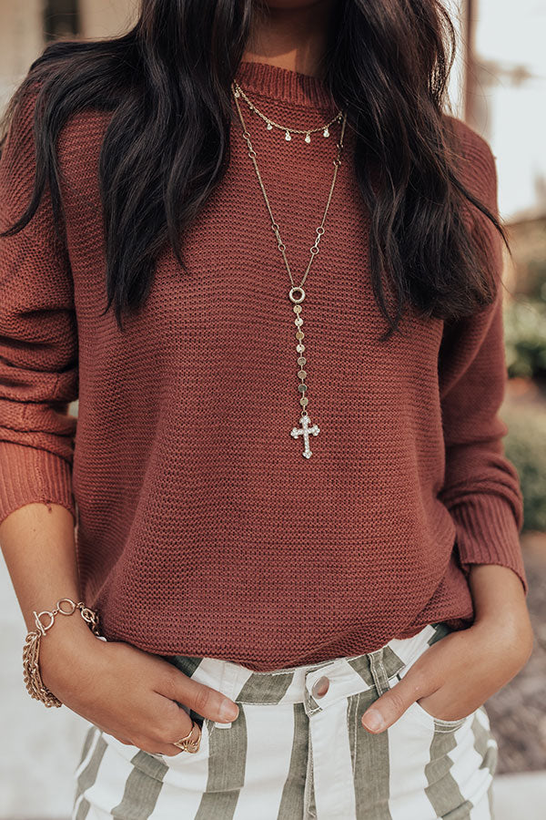 Rooftop Kisses Necklace