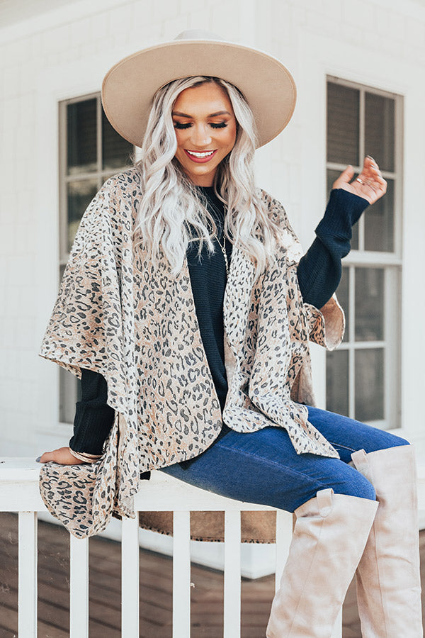 Lovely Time Leopard Cardigan