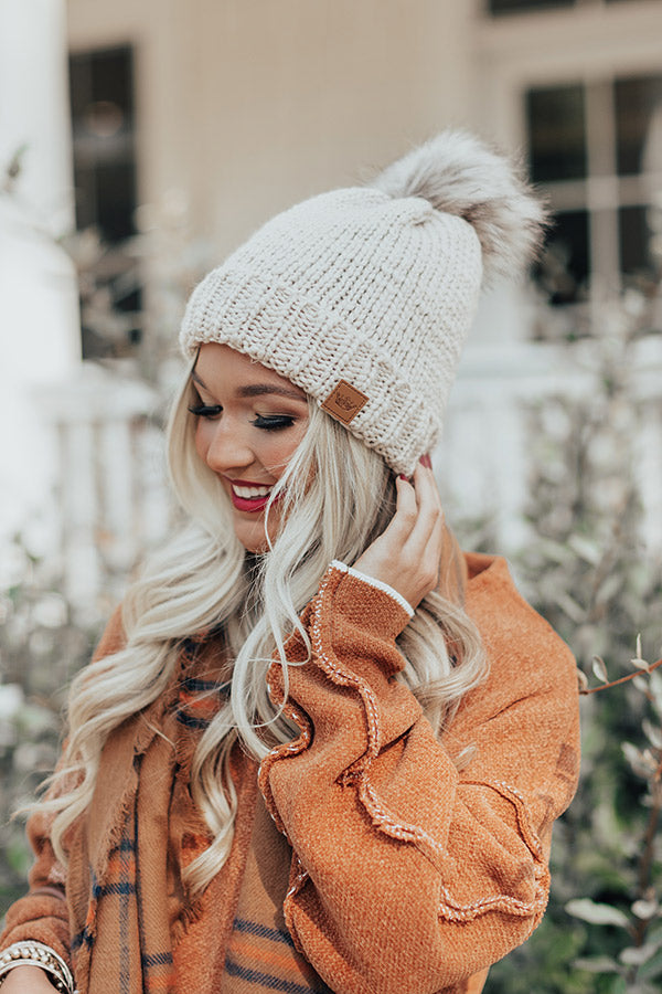 Colorado Snow Knit Beanie