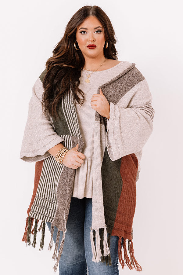 Stay Chilly Colorblock Cardigan