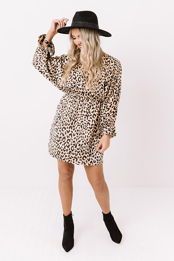 Cider Chic Leopard Dress