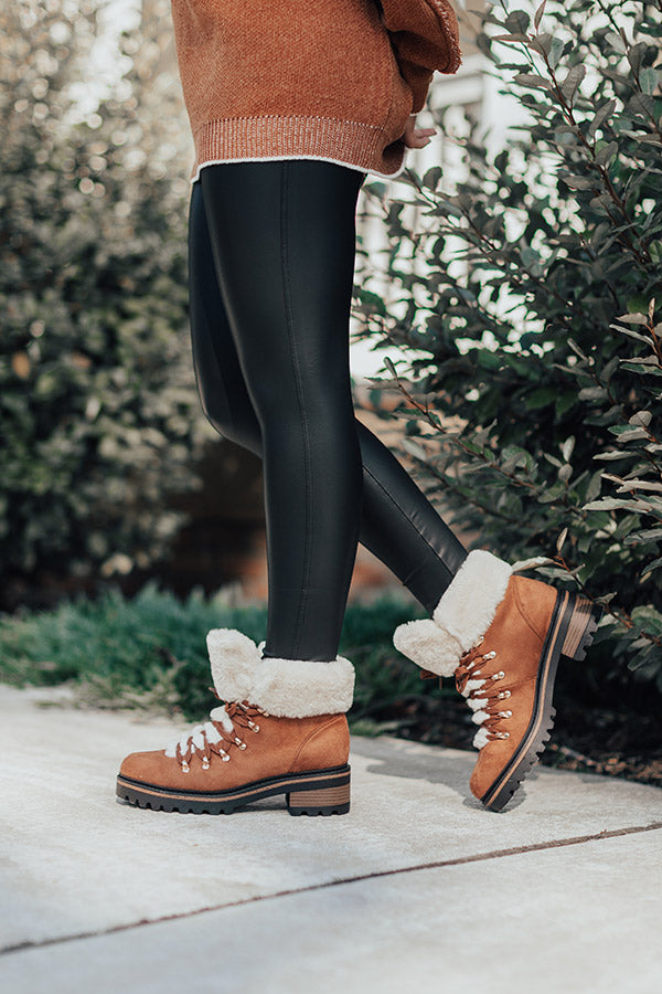 Favor The Cold Fur Lined Boot In Brown