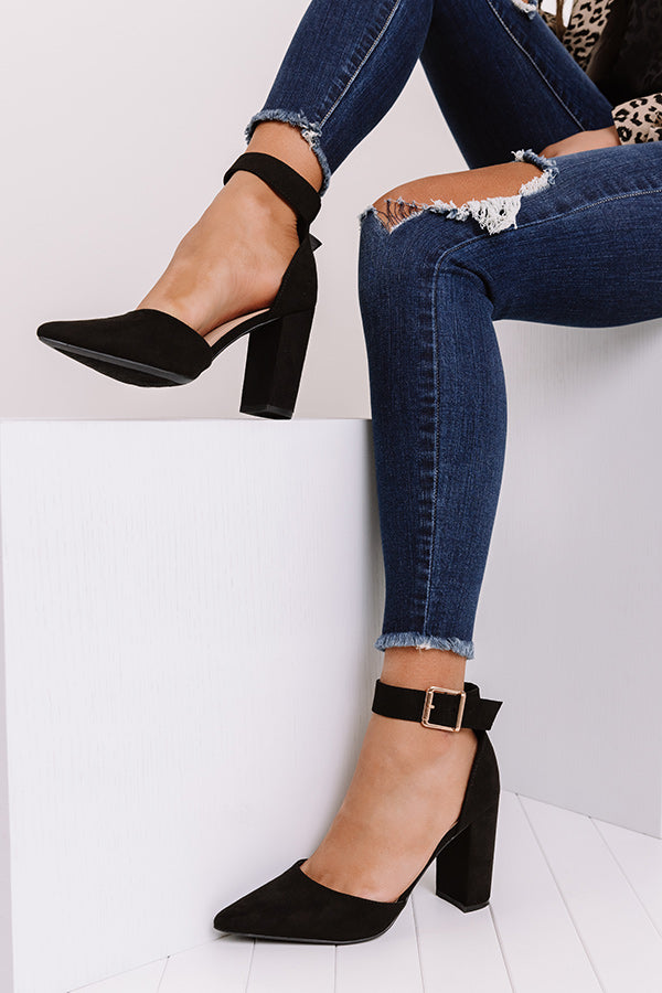 The Clair Heel In Black