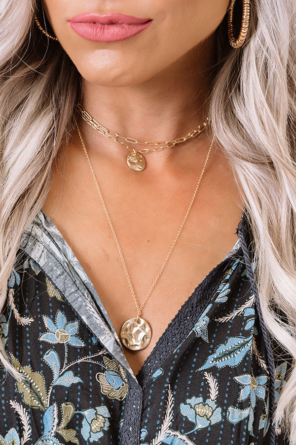 Aspen Road Trip Layered Necklace