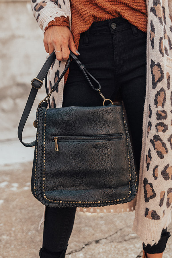 BFF Bond Crossbody In Black