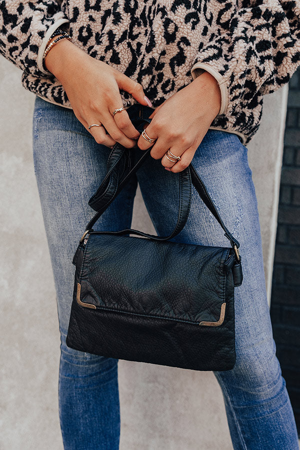 Back To Basics Crossbody In Black