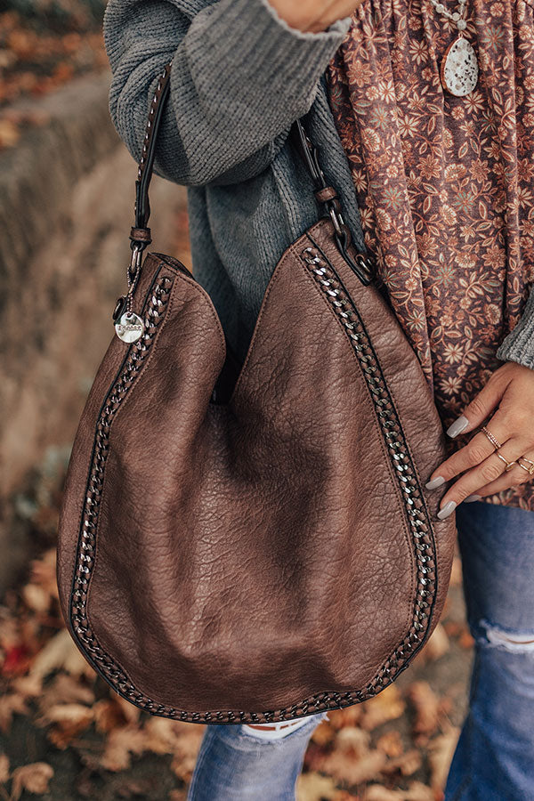 All Day Everyday Tote In Dark Mocha