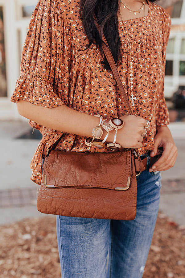 Back To Basics Crossbody In Brown