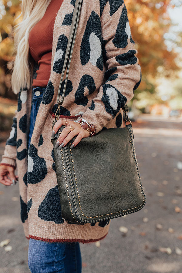 BFF Bond Crossbody In Martini Olive
