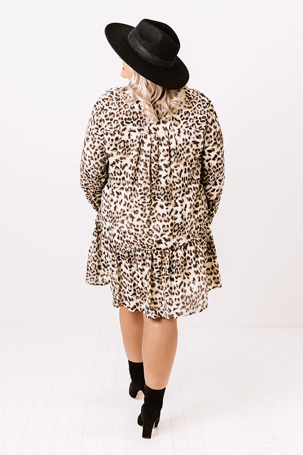 Beauty Within Leopard Shift Dress