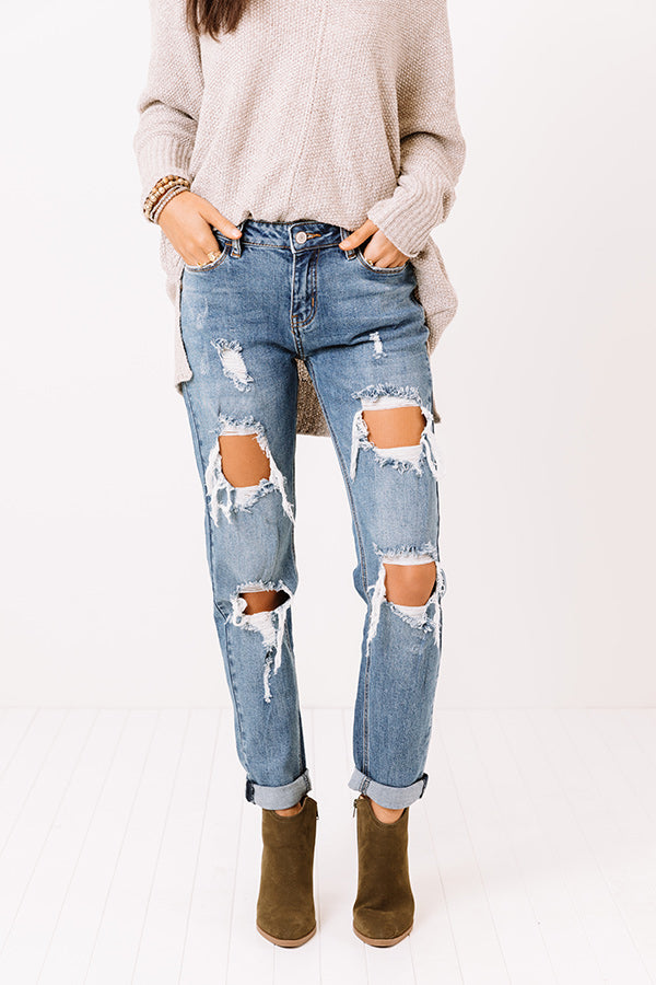 The Ravine High Waist Relaxed Skinny