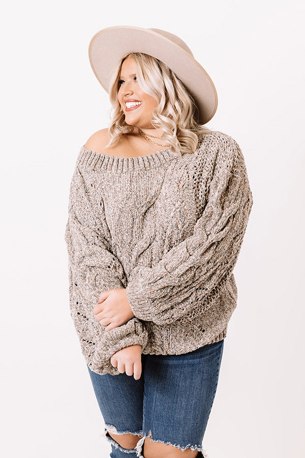 Cozy Essence Chenille Sweater