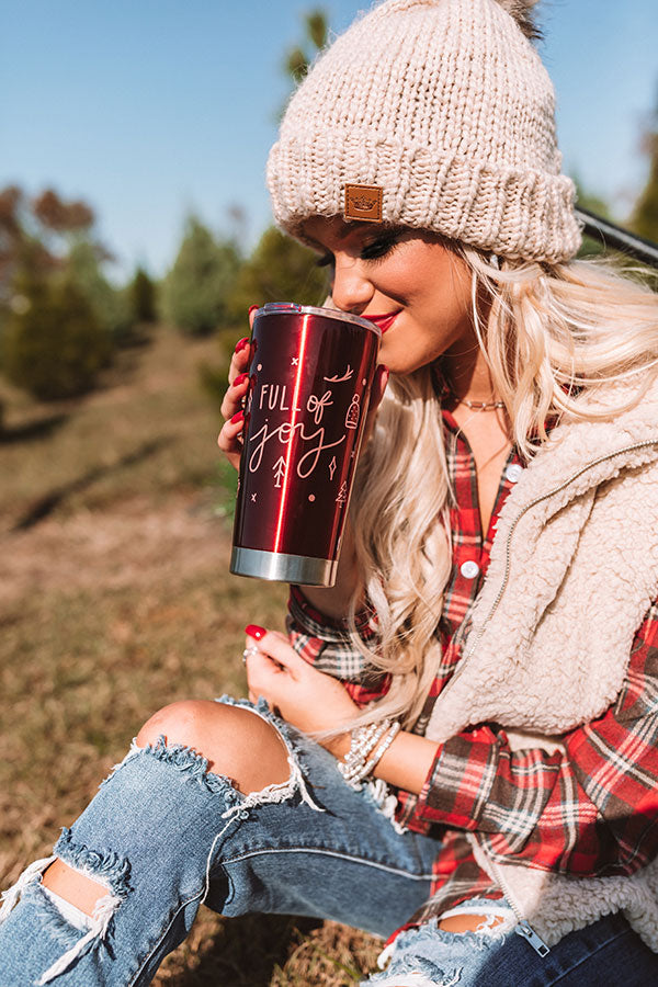 Full Of Joy Insulated Tumbler