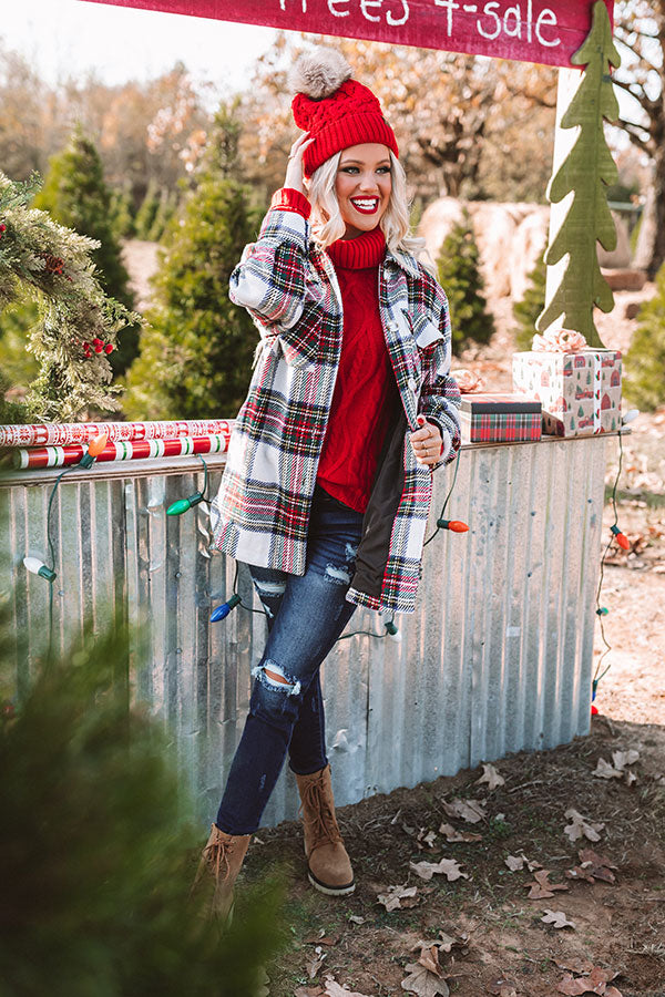 Winter Rush Plaid Jacket
