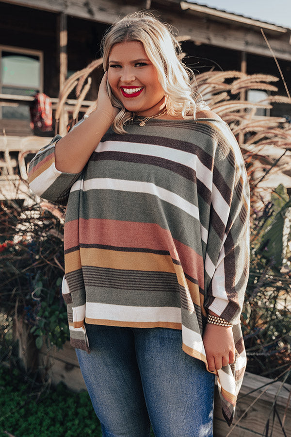 Light Hearted Stripe Shift Top