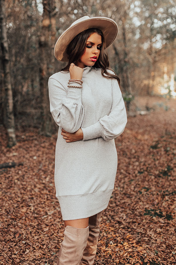 Meant To Be Mine Sweater Dress