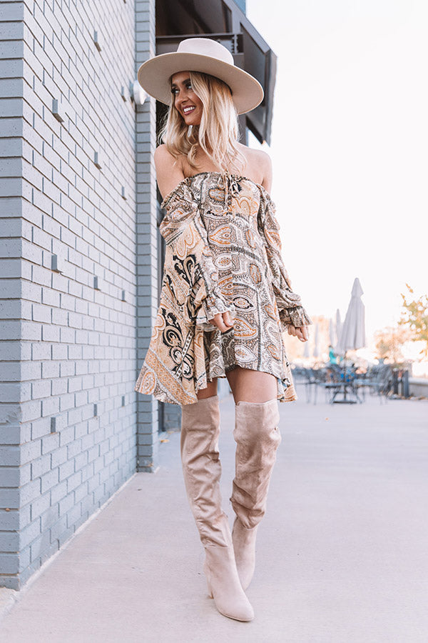 Show Tune Paisley Dress