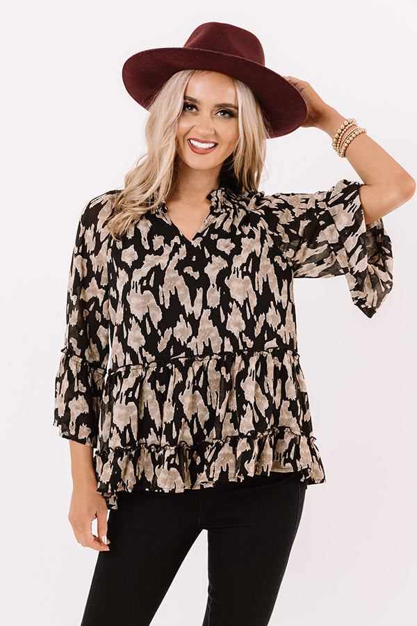 Proven Success Shift Top in Black