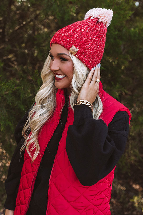 Winter Thrills Fleece Lined Beanie