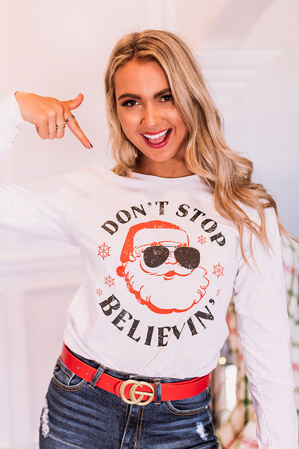 Don't Stop Believin' Long Sleeve Tee