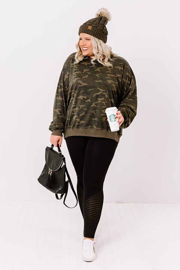 Classic Crush Camo Sweatshirt