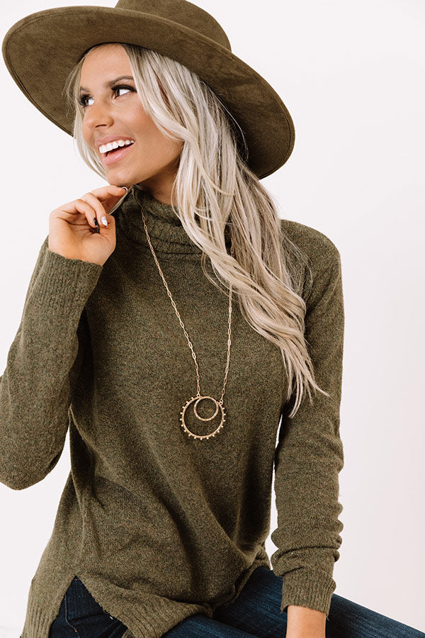 Blissed Out Necklace In Gold