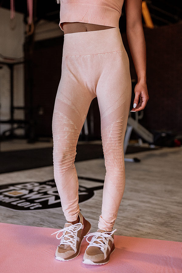 Setting Records High Waist Moto Active Legging