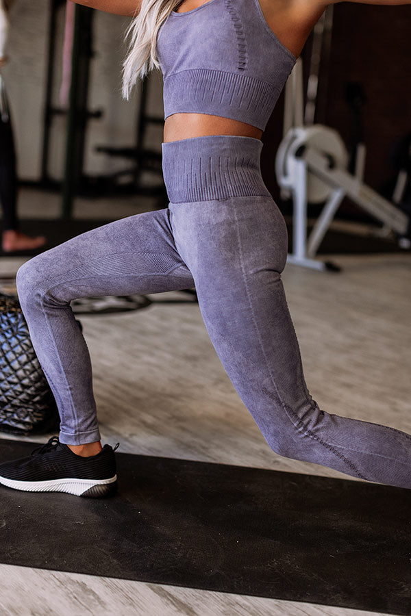 Gym Bunny High Waist Active Perforated Leggings