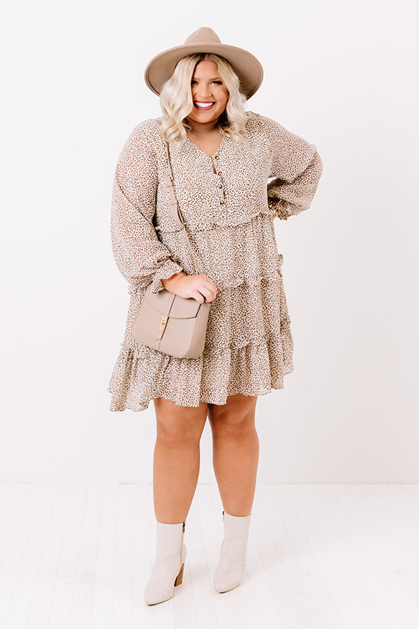 Sweeten The Deal Shift Dress In Birch
