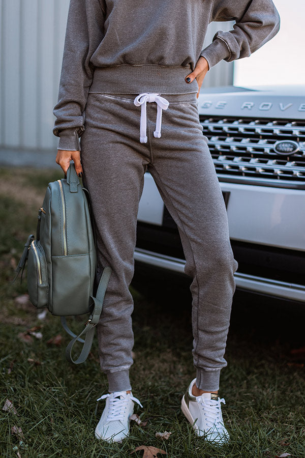 Fresh Air Joggers in Grey