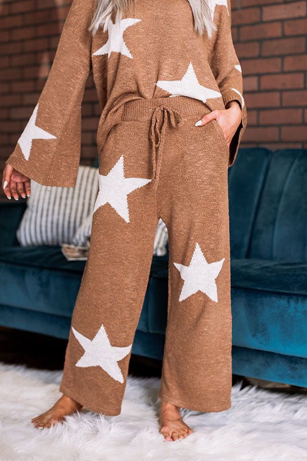 Dreaming Under The Stars Knit Pants