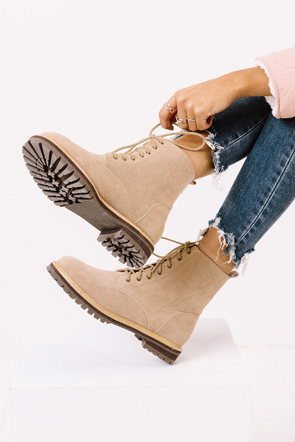 The Shane Faux Suede Boot