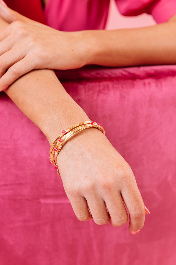 Valentine Stacker Bangle Bracelet