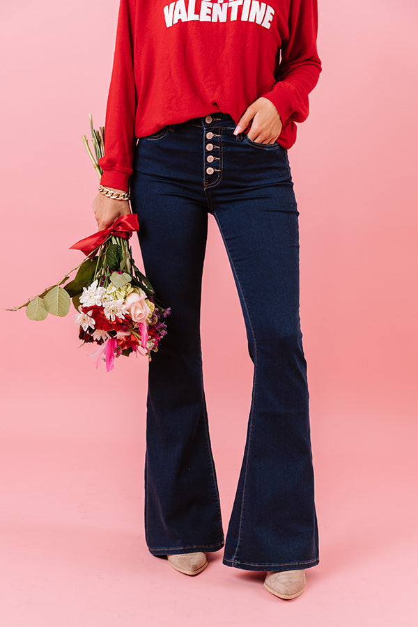 The Jackie High Waist Flares