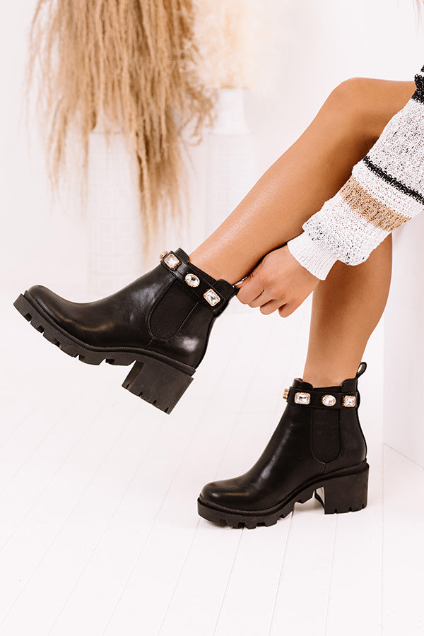 Steve Madden Amulet Faux Leather Boot