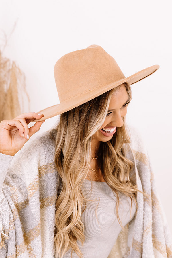 Brunch Babe Felt Hat In Tan