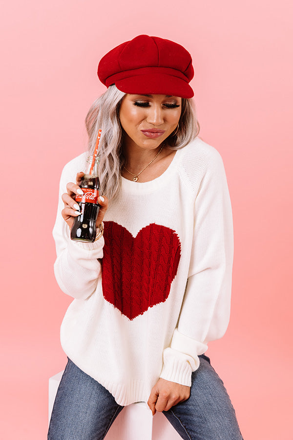 My Heart Is Yours Knit Sweater